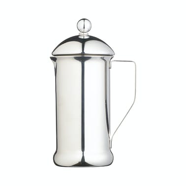 Le'Xpress 8 Cup Single Walled Stainless Steel Cafetiere