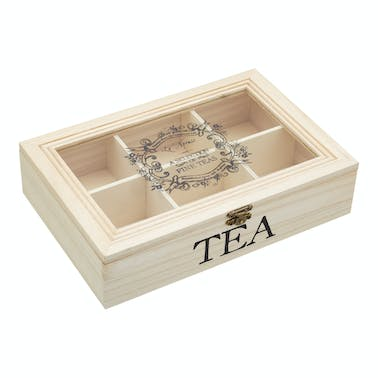 Le'Xpress Wooden Tea Chest