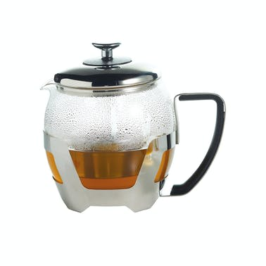 Le'Xpress 1 Litre Stainless Steel Teapot with Infuser Press
