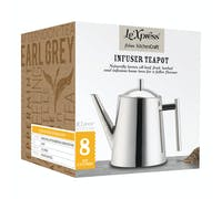 Le'Xpress Stainless Steel 1.5 Litre Infuser Teapot