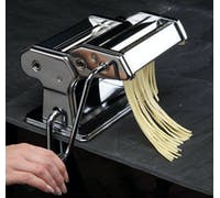 KitchenCraft World of Flavours Italian Deluxe Double Cutter Pasta Machine