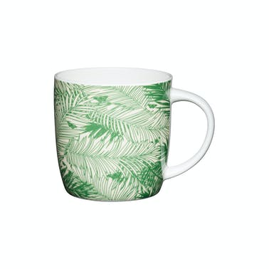 KitchenCraft Set of Four China Palm Trees Mugs