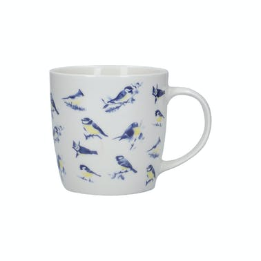 KitchenCraft China 425ml British Birds Shaped Mug