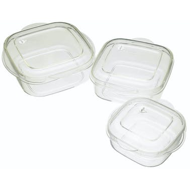 KitchenCraft Microwave Casserole 3 Piece Set