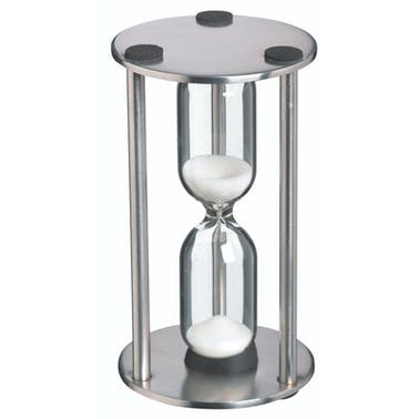 MasterClass Stainless Steel Traditional Three Minute Timer
