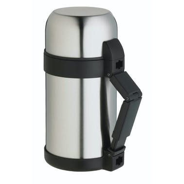 MasterClass Stainless Steel 1 Litre Vacuum Soup / Food Flask