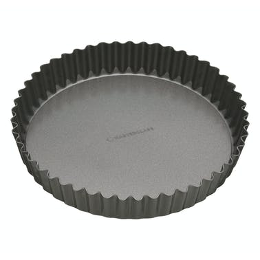 MasterClass Non-Stick 30cm Loose Base Fluted Quiche Tin