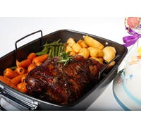 MasterClass Non-Stick Roasting Pan with Rack