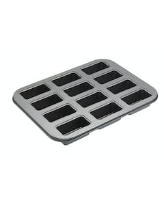 Photo of MasterClass Non-Stick Twelve Hole Mini Loaf Tin