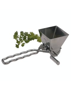 Photo of MasterClass Deluxe Stainless Steel Herb Mill / Mint Cutter