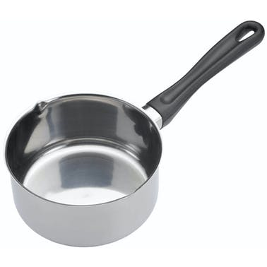 KitchenCraft Stainless Steel 14cm Milk pan (0.7 Litres)