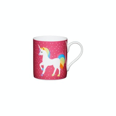 KitchenCraft Set of China Unicorn Mini Mugs