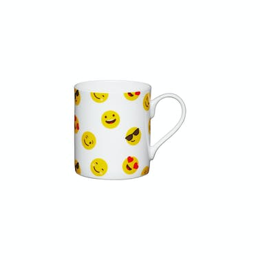 KitchenCraft Set of China Emojis Face Mini Mugs