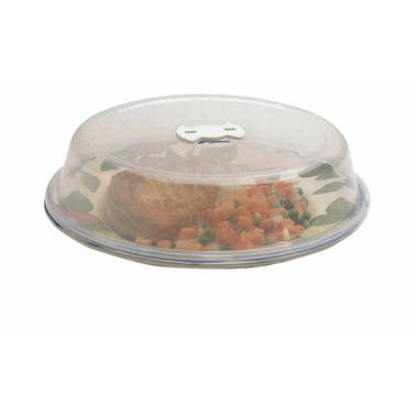 KitchenCraft Microwave 26cm Plate Cover with Air Vent