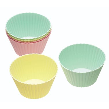 Sweetly Does It Pack of 6 Silicone Muffin Cases