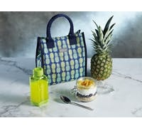 KitchenCraft 4 Litre Pineapple Lunch / Snack Cool Bag