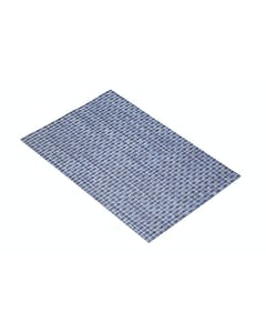 Photo of KitchenCraft Woven Denim Blue Placemat