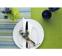 KitchenCraft Woven Green Stripe Placemat