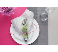KitchenCraft Woven Brights Pink Placemat