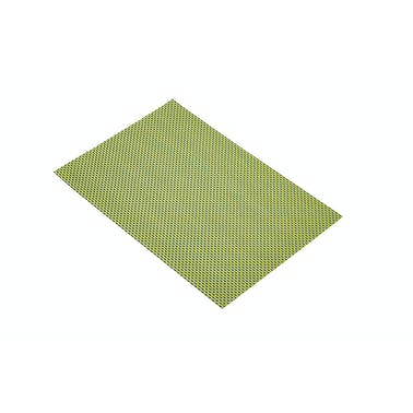 KitchenCraft Woven Green & Black Weave Placemat