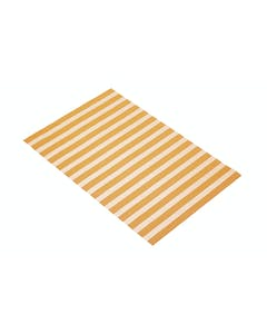 Photo of KitchenCraft Woven Orange Stripe Placemat
