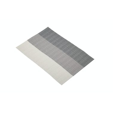 KitchenCraft Woven Grey Stripes Placemat
