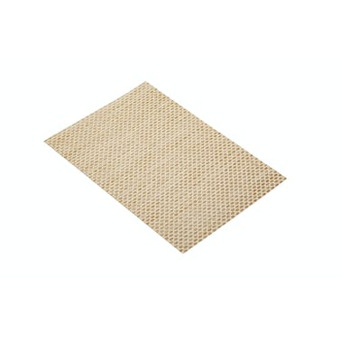 KitchenCraft Woven Beige Weave Placemat