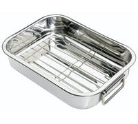 KitchenCraft Stainless Steel 27.5cm x 20cm Roasting Pan