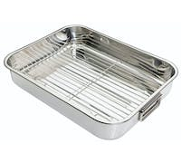 KitchenCraft Stainless Steel 43cm x 31cm Roasting Pan