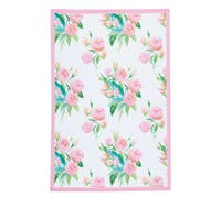 KitchenCraft Set of 2 Rose Tea Towels