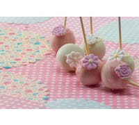 Silikon-Cake-Pop-Backblech mit 20 Mulden