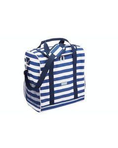 Photo of KitchenCraft Lulworth Large Nautical-Striped Family Cool Bag