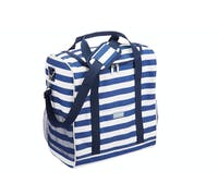 KitchenCraft Lulworth Large Nautical-Striped Family Cool Bag