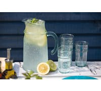KitchenCraft Antigua BPA-Free Plastic Tumblers and Pitcher Jug Set