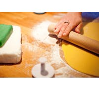 KitchenCraft Beech Wood Solid 40cm Rolling Pin