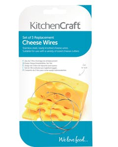 Photo of KitchenCraft Set of 3 Spare Cheese Slicing Wires