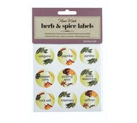 Home Made Pack of 45 Herb & Spice Bottle Labels