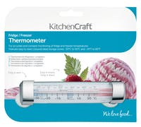 KitchenCraft Plastic Fridge and Freezer Thermometer