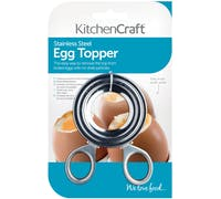 KitchenCraft Stainless Steel Egg Topper