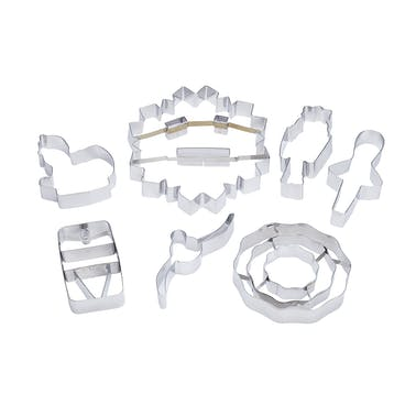 KitchenCraft The Nutcracker Collection Cookie Cutter Set