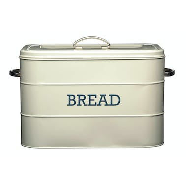 Living Nostalgia Antique Cream Bread Bin