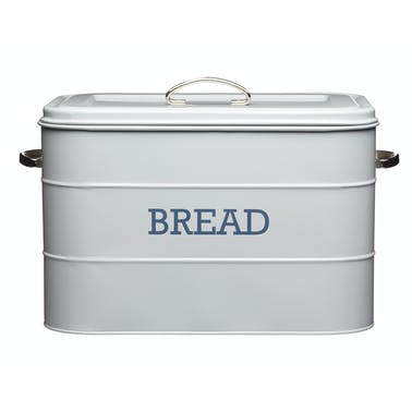 Living Nostalgia French Grey Bread Bin