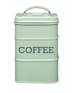 Photo of Living Nostalgia Coffee Storage Canister - English Sage Green