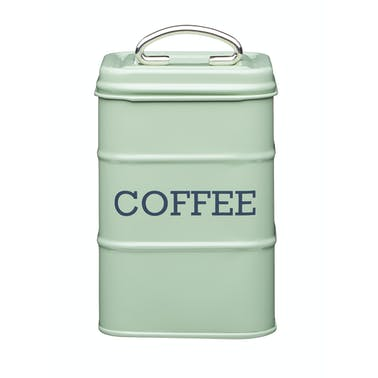 Living Nostalgia Coffee Storage Canister - English Sage Green