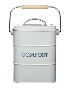 Photo of Living Nostalgia French Grey Compost Bin