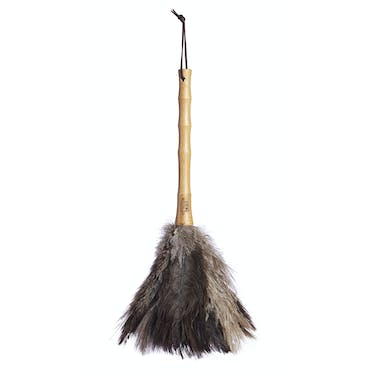 Living Nostalgia Genuine Natural Ostrich Feather Duster