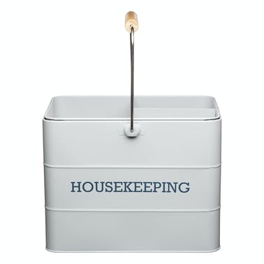 Living Nostalgia French Grey Housekeeping Tin