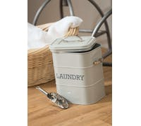 Living Nostalgia French Grey Laundry Tin