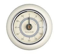 Living Nostalgia Antique Cream Magnetic Kitchen Timer