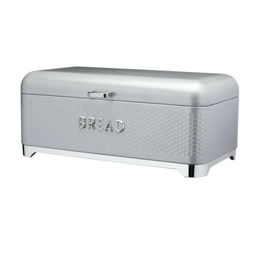 Lovello Textured Bread Bin - Shadow Grey